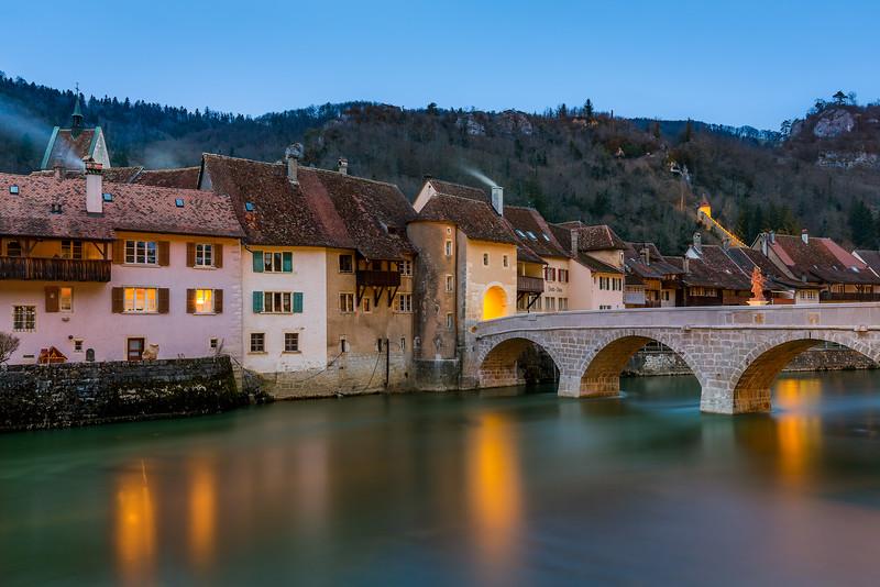Le Doubs / St-Ursanne, Switzerland