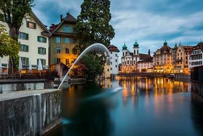 Waking up / Lucerne, Switzerland