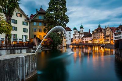 Waking up / Lucerne, Switzerland