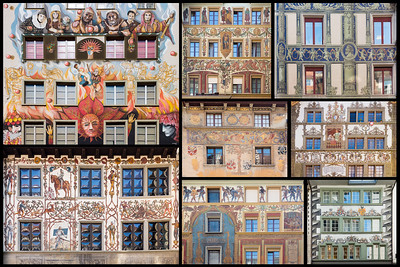 Old town houses / Lucerne, Switzerland