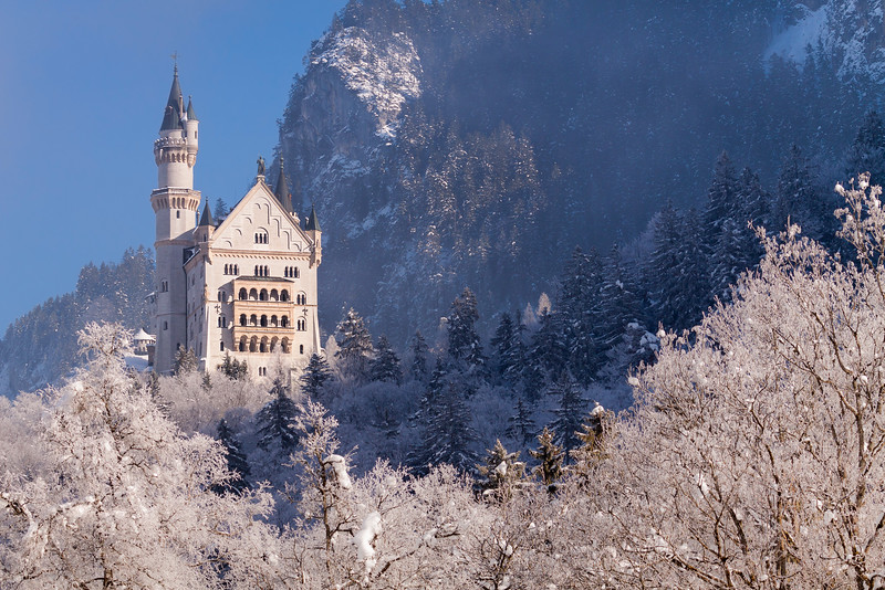 Winter fairytale / Hohenschangau, Germany