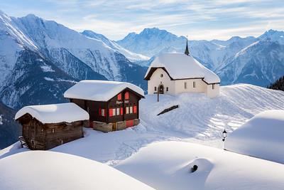 Swiss winter / Bettmeralp, Switzerland