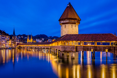 Chapel bridge / Lucerne, Switzerland