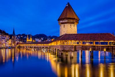 Chapel bridge / Lucerne, Switzerland