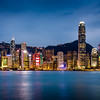Avenue of the stars / Victoria harbour, Hong Kong