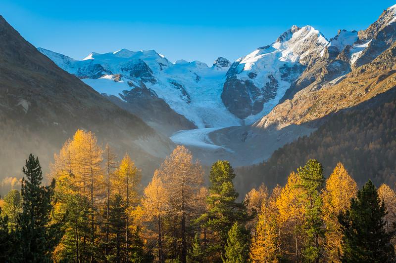 Morteratsch glacier / Pontresina, Switzerland