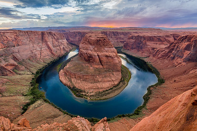 Horseshoe bend / Page, USA