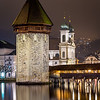 Night time / Lucerne, Switzerland