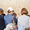 At Western wall. Jerusalem.