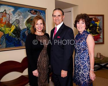 Lisa Marie Browne, Robert Silvani, Carol Trojan