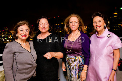 Dale Coudert, Diana Bell, Rochelle Ohrstrom, Countess Maria Vittoria Colonna Rimbotti