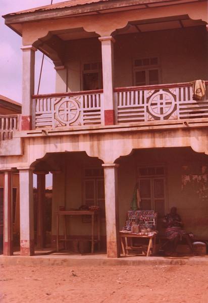 Balcony banister - Detail