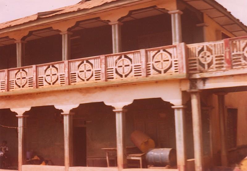 Detail of Balcony Banister