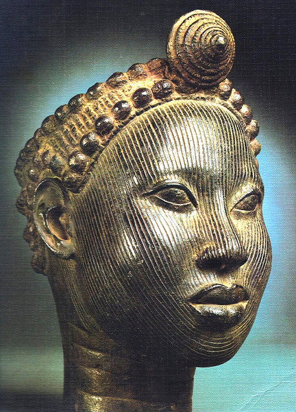 Crowned Head of an Oni
