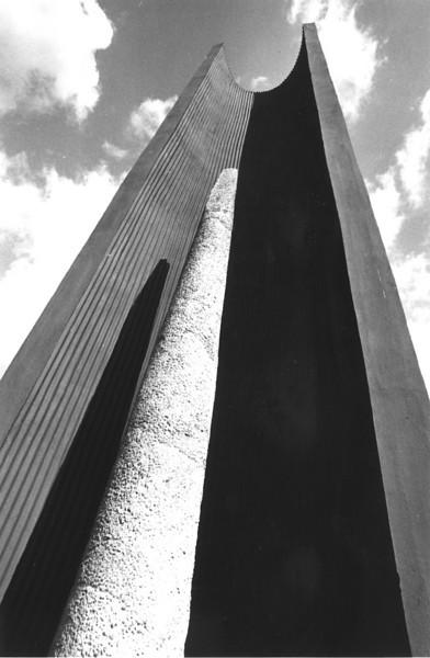 Replica of Ife Staff in Concrete