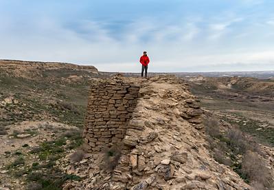 Ruins of Kurgancha Kala Fortress