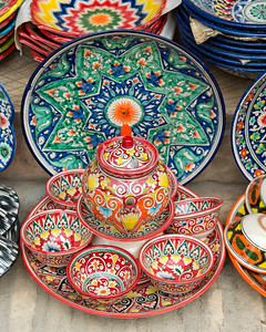 Colourful Ceramics, Bukhara