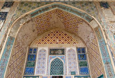 Bolo Hauz Mosque, Bukhara