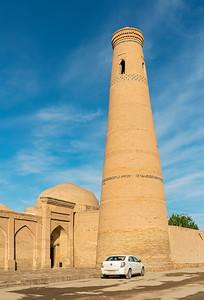 Bikajon Bika Minaret, Khiva