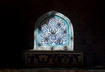 Tiled Tombstone, Khiva