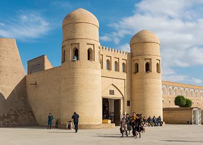 West Gate, Khiva