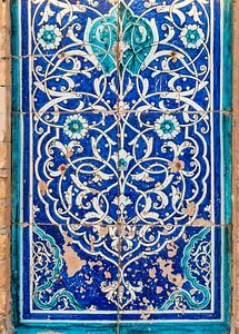 Tiled Mosaics, Khiva