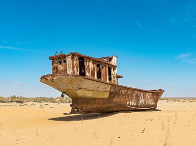 Moynak Ship Graveyard