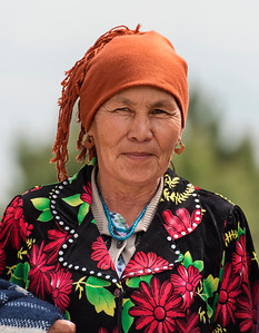 Portrait of Uzbek Woman