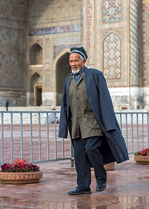 Uzbek Man, Registan, Samarkand