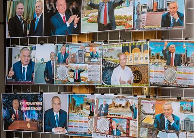 Photos of Islam Karimov, Uzbekistan