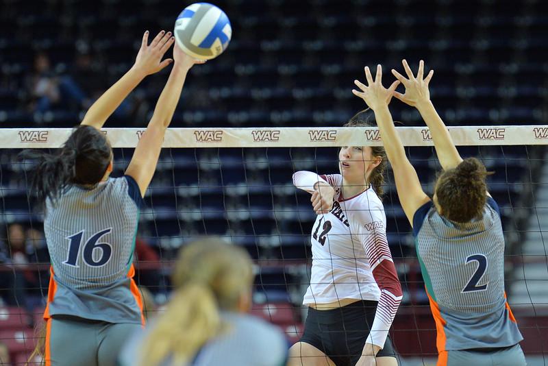WAC Volleyball Tournament Semifinal - No. 1 New Mexico State vs. No. 5 UT Rio Grande Valley