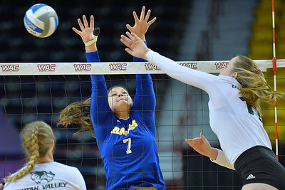 WAC Volleyball Tournament Semifinal - No. 2 Utah Valley vs. No. 3 CSU Bakersfield