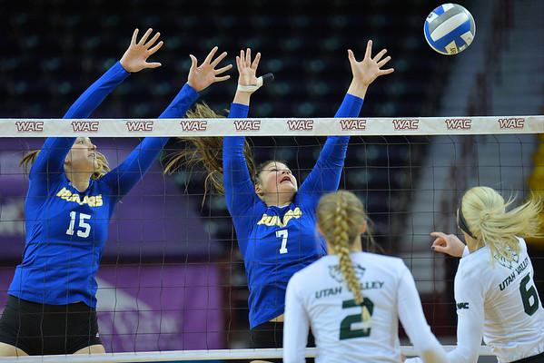 WAC Volleyball Tournament Semifinal - No. 2 Utah Valley vs. No. 3 CSU Bakersfield