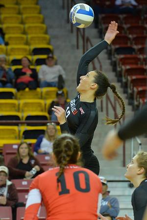 WAC Volleyball Tournament First Round - No. 3 CSU Bakersfield vs. No. 6 Seattle