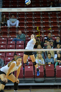WAC Volleyball Tournament First Round - No. 3 CSU Bakersfield vs. No. 6 Seattle