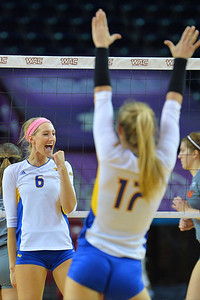 WAC Volleyball Tournament First Round - No. 4 Missouri-Kansas City vs. No. 5 UT Rio Grande Valley
