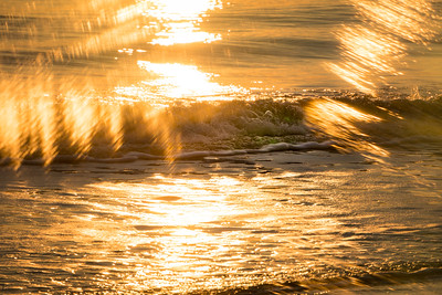 Sunset Waves Vortograph 2
