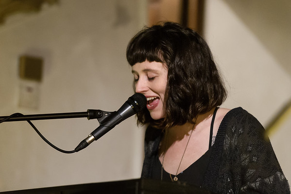 Waxahatchee - Katie Crutchfield performing at St Pancras Old Church 26/01/15