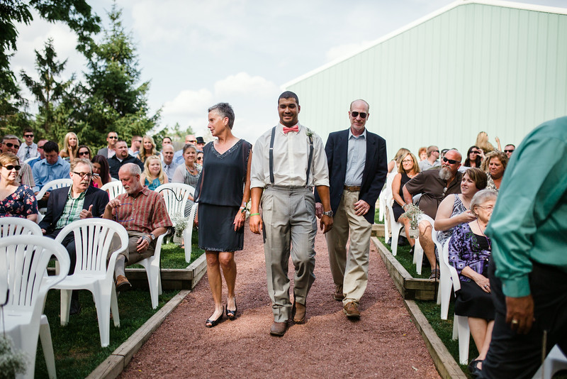 Ceremony at Williams Tree Farm
