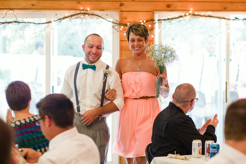 Wedding Reception at Williams Tree Farm