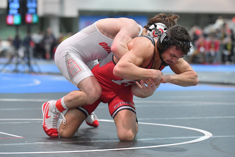 LAS VEGAS, NV - NOVEMBER 30:  Peter Lipari during the Cliff Kean Invitational at the Las Vegas Convention Center in Las Vegas, Nevada.  (Photo by Sam Wasson for Rutgers Athletics)