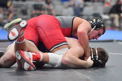 LAS VEGAS, NV - NOVEMBER 30:  Jordan Pagano during the Cliff Kean Invitational at the Las Vegas Convention Center in Las Vegas, Nevada.  (Photo by Sam Wasson for Rutgers Athletics)