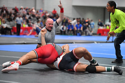LAS VEGAS, NV - NOVEMBER 30:  John Van Brill during the Cliff Kean Invitational at the Las Vegas Convention Center in Las Vegas, Nevada.  (Photo by Sam Wasson for Rutgers Athletics)