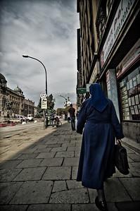 A nun on the run