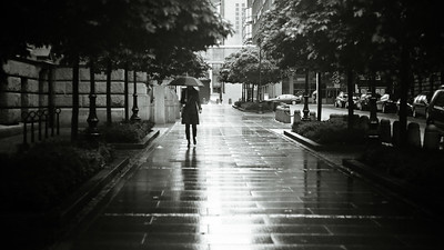 Rainy day in Oslo