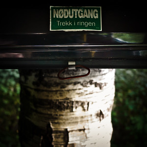Nødutgang - Emergency exit