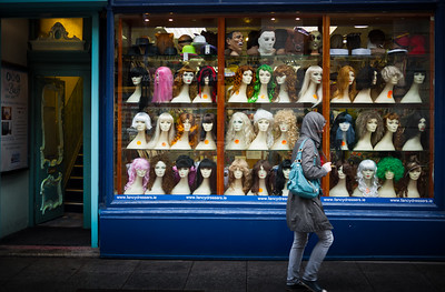 Wigs and masks