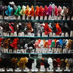 Les gants et les couleurs