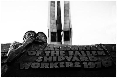 Memorial of the fallen shipyard workers 1970
