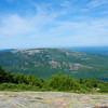 View from the Blue Hill Overlook, Cadillac Mountain